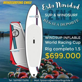Esta navidad 🎄 regala deporte !!! Que mejor que 2 deportes al precio de 1 😱 windsurf + Sup 🙌 por solo 699.000. Te esperamos 🤙
