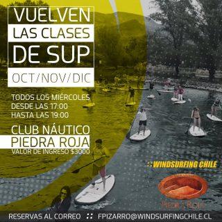 Vuelven los entrenamientos de Sup!!! En la Laguna de piedra roja, Chicureo 📍stgo. Todos los miércoles acorta tu semana entrando al agua 🤙🌊 nos vemos!